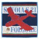 Mini Towel - 25x25cm - Savoia S.21 Folgore - Porco Embroidered - Ghibli - 2013 (new)