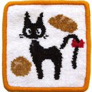 Coaster - Chenille Weaving - 13x13cm - Jiji & Bread - Kiki's Delivery Service - 2013 (new)