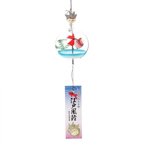Wind Chime - Glass - Traditional Handmade in Japan - Goldfish - Totoro -2013- no production (new)