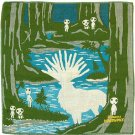 Handkerchief - 28x28cm - 3 Layers - Imabari - Made in Japan - Mononoke - 2013 (new)