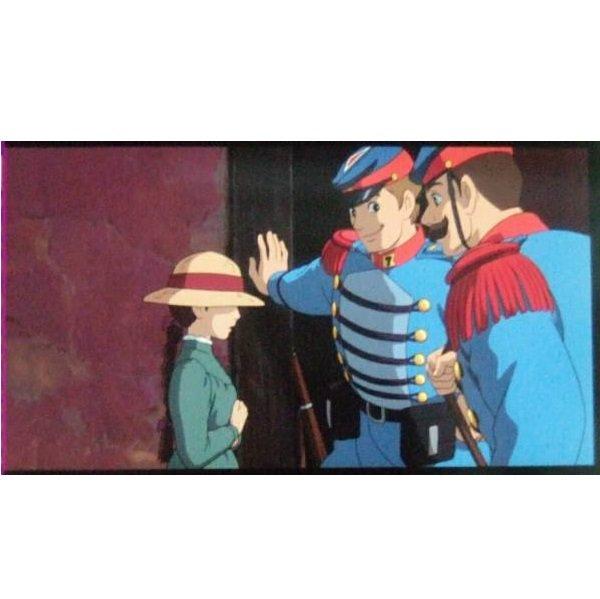 1 left - Bookmarker - Movie Film #3 - 6 Frame - Sophie - Howl's Moving Castle - Ghibli Museum (new)