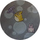 Necktie - Silk - Jacquard Weaving - soap bubble - grey - made in Japan- Totoro - Ghibli - 2013 (new)