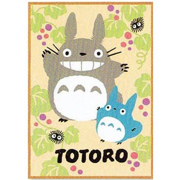 Blanket (M) - 100x140cm - Acylic New Mayer - grape - Totoro - Ghibli - 2013 (new)