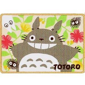 Blanket (S) - 70x100cm - Microfiber - Polyester - flower - Totoro - Ghibli - 2013 (new)