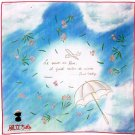 Handkerchief - 43x43cm - made in Japan - Wind Rises / Kaze Tachinu - Ghibli - 2013 (new)