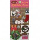 5 left - Craft Sticker - Jiji & Christmas - Kiki's Delivery Service - Ghibli - no prodution (new)