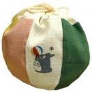 1 left - Kinchaku Bag - Ball - made in Japan - Totoro - Ghibli - 2009 - no production (new)