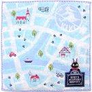 Mini Towel - 25x25cm - Embroidery - map - Jiji - Kiki's Delivery Service - 2013 (new)