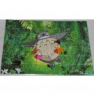 1 left - Letter Jigsaw Puzzle 48 pieces - Totoro & Mei & Satsuki - Ghibli - no production (new)