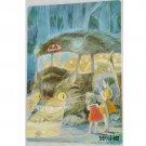 1 left- Pencil Board / Shitajiki #2- made Japan - Nekobus Mei Satsuki - Totoro - no production (new)