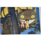 1 left- Pencil Board / Shitajiki #3- made Japan - Nekobus Mei Satsuki - Totoro - no production (new)