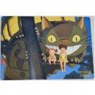 1 left- Pencil Board / Shitajiki #3- made Japan - Nekobus Mei Satsuki - Totoro - no production (new)
