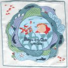 1 left - Handkerchief - Gauze - 29x29cm - made in Japan - Ponyo - Ghibli - 2009 - no production(new)