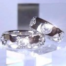 1 left - Ring #22 - Silver 950 Cubic Zirconia - Howl's Moving Castle - no production (new)