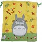 Kinchaku Bag - 31x35cm - Fluffy Applique - Totoro - Ghibli - 2013 (new)