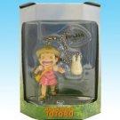 4 left - Chain Strap - Mini Figure - Mei & Sho Totoro - Cominica - Ghibli - out of production (new)