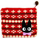 Pouch Purse - 12x13.5cm - Kitting - red - Jiji - Kiki's Delivery Service - Ghibli - 2013 (new)
