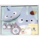 Baby Gift Set - 6 items - Cap & Baby Bid & Rattle & Socks & Towel - Totoro - Sun Arrow (new)