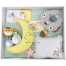 Baby Gift Set - 7 items - Moon Orgel & Cap & Rattle & Pillow & Towel - Totoro - no production (new)