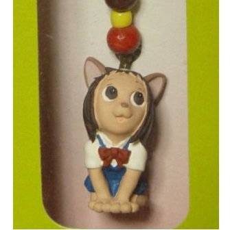 Strap Holder - Beads - Nekoharu - Cat Returns - Ghibli - out of production (new)