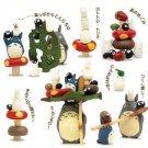 Build Up Toy -Figure - 17 Pieces - Tsumutsumu - Totoro - Ghibli - Ensky - 2013 (new)