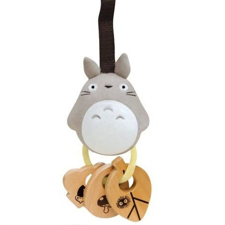 SOLD - Baby Rattle - Beech Tree - Mascot - Totoro - Ghibli - Combi -2007 - no production (new)