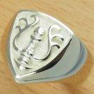 Ring #8 - Sterling Silver 925 -Crest White- made Japan -Original Ghibli Box- Cominica - Laputa (new)