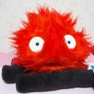 5 left- Calcifer Log (M) - Plush Doll - Red - Howl's Moving Castle - Sun Arrow - no production (new)