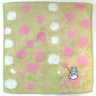 1 left - Mini Towel - Non-Twisted Thread & Jacquard Weaving - pink - Totoro - no production (new)