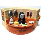 1 left - Planter Pot - Kaonashi & Bounezumi & Haedori - Spirited Away - no production (new)