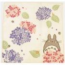 Handkerchief - 29x29cm - Gauze - Hydrangea - made in Japan - Totoro - Ghibli - 2014 (new)