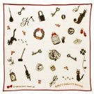 Handkerchief - 29x29cm - Gauze - Antique - made Japan - Jiji - Kiki's Delivery Service - 2014 (new)