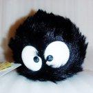 1 left - Plush Doll - Kurosuke W16cm - Totoro - Ghibli Museum - Bag & Card - no production (new)