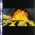 1 left - Movie Film #2 - 6 Frames - Wild Boar and Explosion - Mononoke - Ghibli (real film)