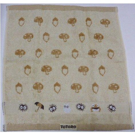 SOLD - Hand Towel - Embroidered - Kurosuke - Totoro - no production (new)