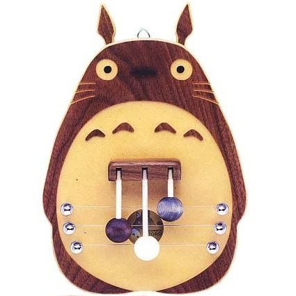 SOLD - Totoro Door Melody - Natural Wood -Handmade- made in Japan -out of production (new)