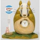 1 left - Clock - Totoro & Kaonashi & Bounezumi - Limited Edition- Spirited Away -no production (new)