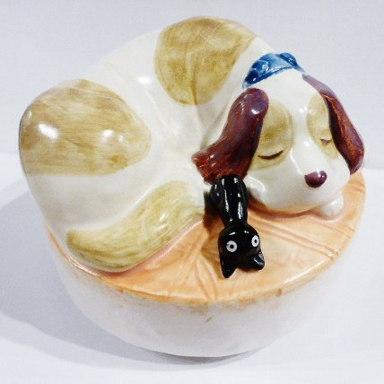 1 left- Music Box Orgel - Jiji & Jeff - Ceramics - Kiki's Delivery Service - no production (new)