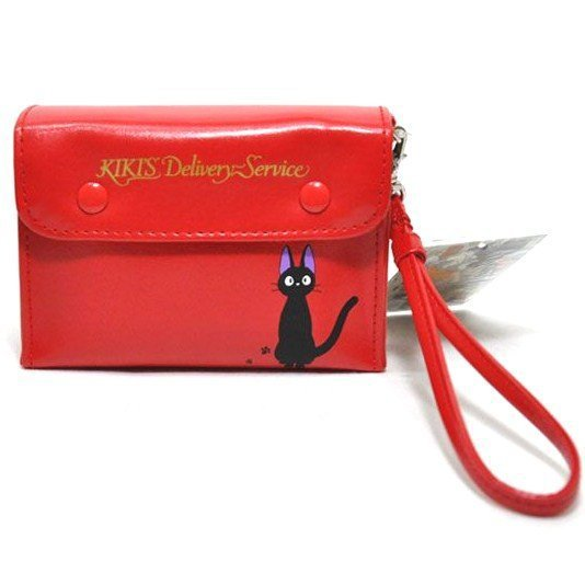 2 left - Pouch - Kiki's Red Radio - Jiji - Kiki's Delivery Service - Ghibli - no production (new)