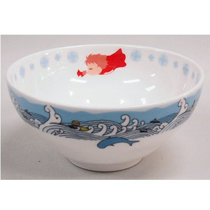 3 left- Rice Bowl - Noritake - Bone China - made in Japan - Ponyo - 2009 - no production (new)