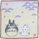 Handkerchief - 21.5x21.5cm - Gauze - winter - made in Japan - Totoro & Yukinko - Ghibli (new)