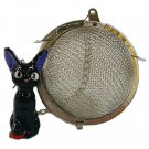 Tea Strainer Ball - Stainless Steel - Jiji Ceramics - Kiki's Delivery Service -2014 (new)