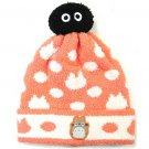 Hat - Kids - Stretch - orange - Totoro Applique & Kurosuke - 2014 - no production (new)
