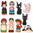 30% OFF - 9 Finger Doll - Kiki & Jiji & Lily & Tombo & Osono - Kiki's Delivery Service - 2014 (new)