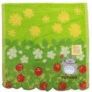 Mini Towel - 25x25cm - Jacquard Weaving - Applique & Embroidery - Totoro - Ghibli - 2015 (new)