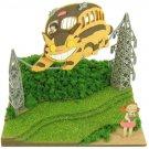 Miniatuart Kit - Mini Paper Craft Kit - Nekobus Catbus Satsuki Mei - Totoro - Ghibli - 2014 (new)