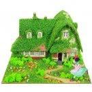 Mini Papercraft Kit - Laser Sheet - Kiki & Okino House - Kiki's Delivery Service - 2014 (new)