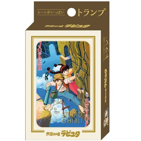 Playing Cards - 54 Different Pictures from Scene - Special Case - Laputa - Ghibli - 2015 (new)