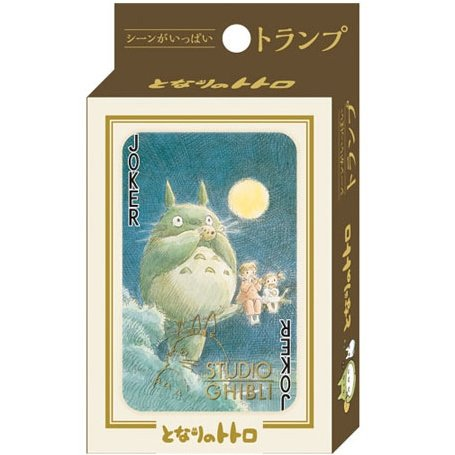 Playing Cards - 54 Different Pictures from Scene - Special Case - Totoro - Ghibli - 2015 (new)