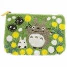 Big Pouch Bag - 28x18cm - Sagara Embroidery - Totoro & Sho Totoro & Kurosuke - Ghibli - 2015 (new)